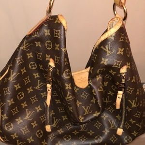 Authentic LV monogram large handbag